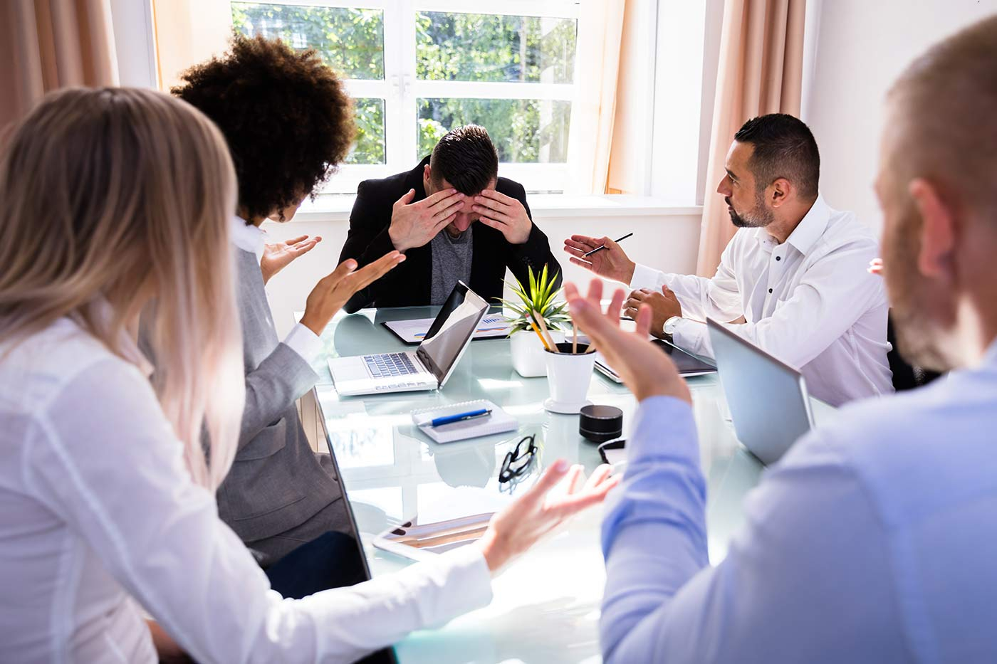 How to avoid or deflect tense conflict situations at work